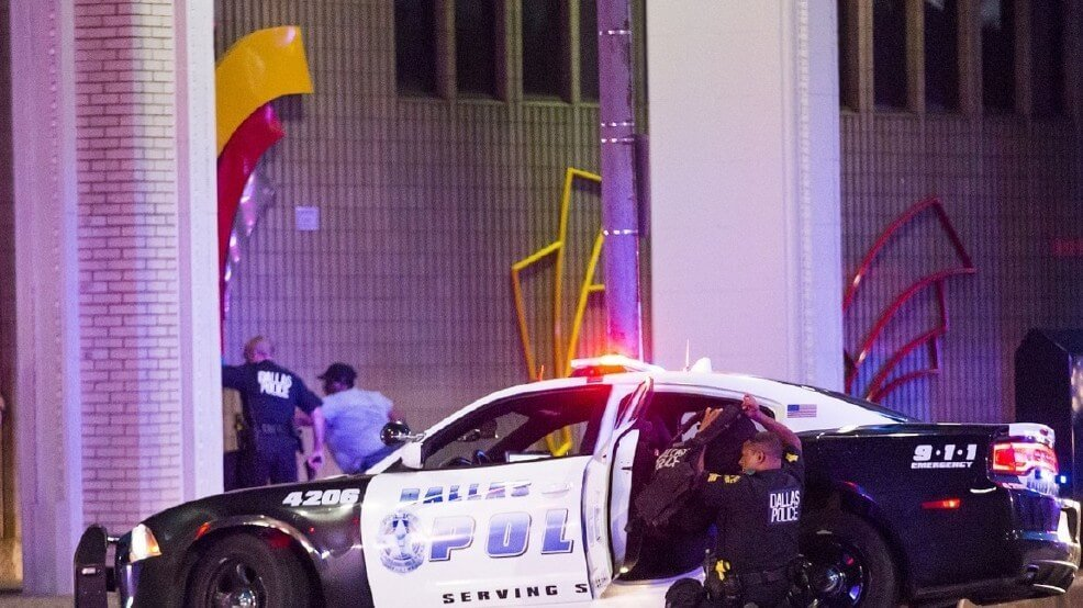 Our thoughts and prayers are with DART PD and Dallas Police