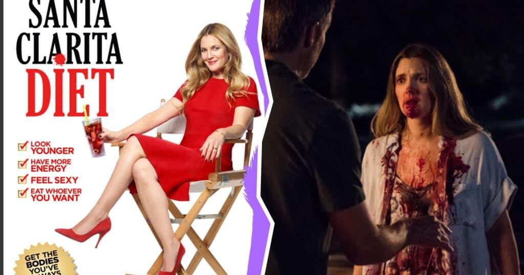Watch an Undead Drew Barrymore Eat Human Flesh in This New Netflix Show
