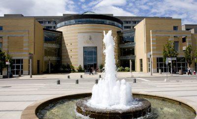 Front of Vari Hall at the York University