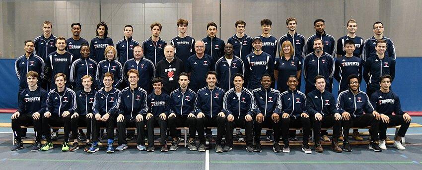 Toronto Men Track and Field 2018