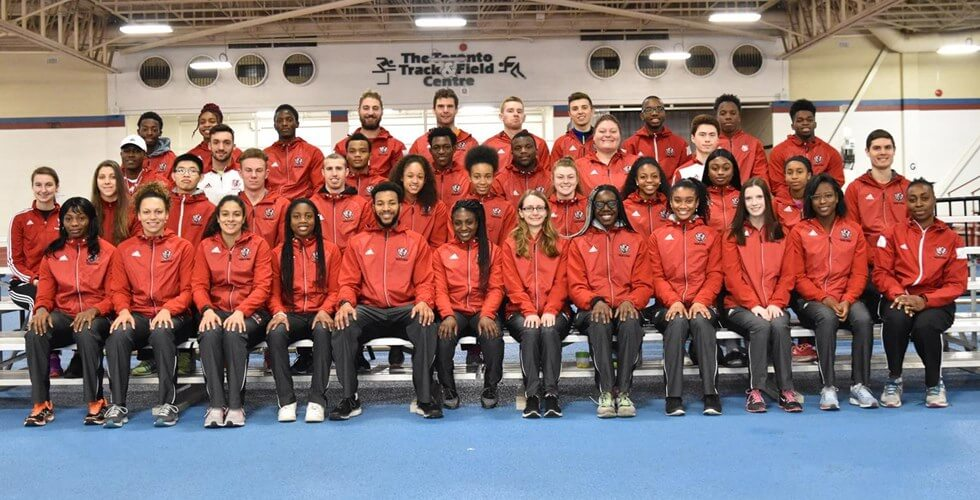 York University Lions track and field 2018