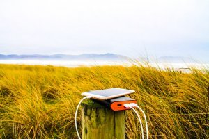 Solar power bank - Useful travel gadget
