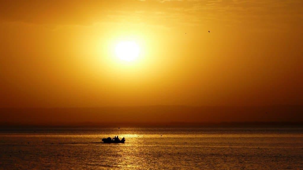 Sunset over Ethiopia