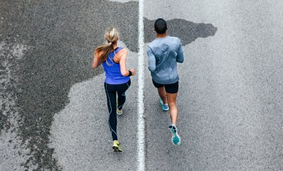 Couples Running