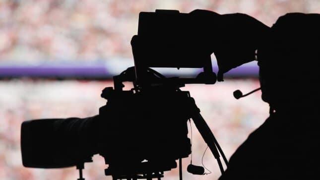 cameraman stadium