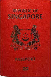 Singaporean Passport