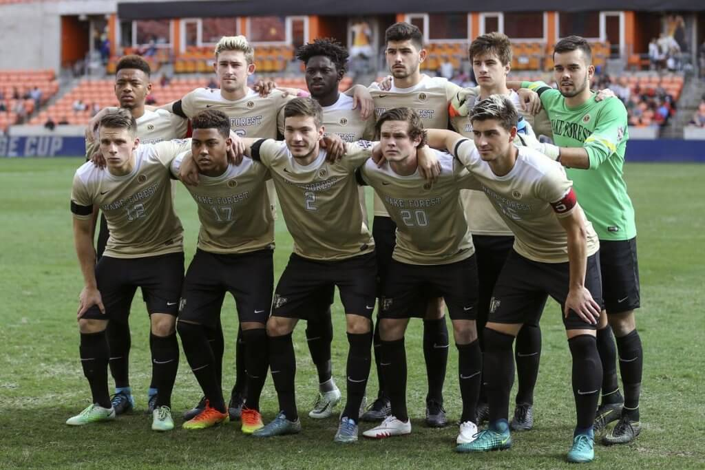 Wake Forest University Men Soccer team