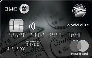 BMO AIR MILES World Elite MastercardBMO AIR MILES World Elite Mastercard