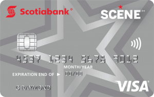 SCENE Visa Card from Scotiabank