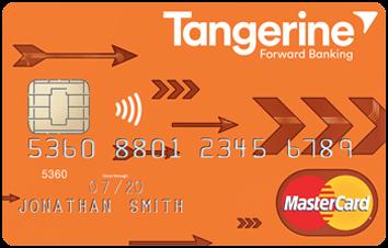 Tangerine Money Back Credit Card