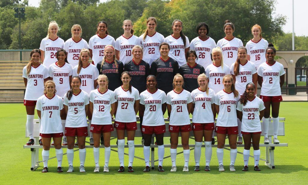 The Stanford Cardinal women's soccer team