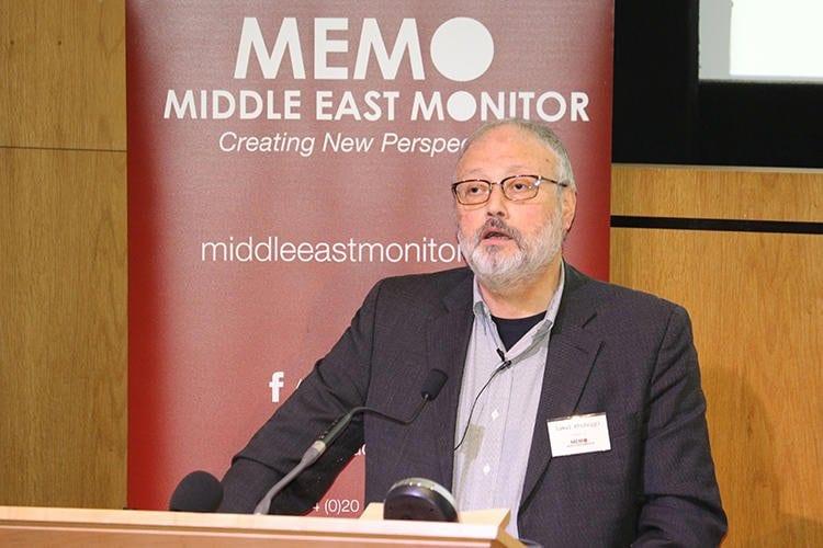 Washington Post columnist Jamal Khashoggi