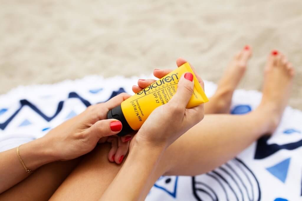 Apply SPF year-round
