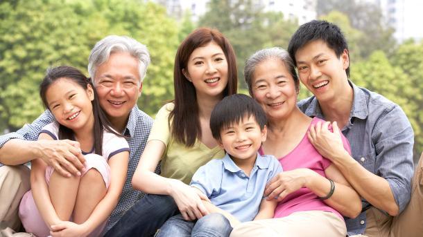 Happy Taiwan Family