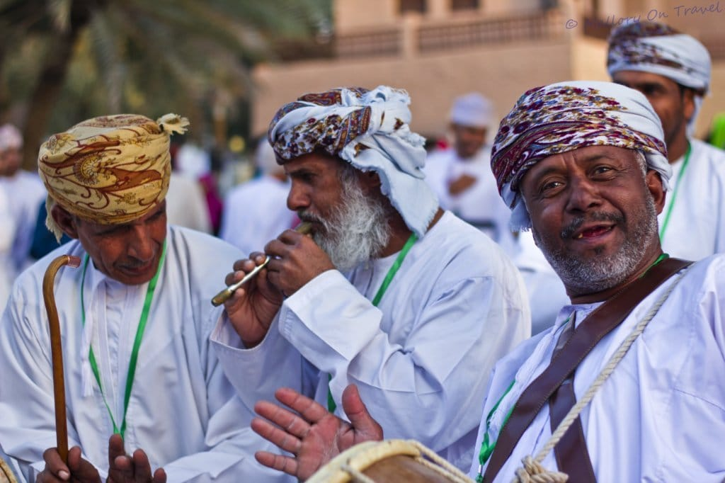 Oman's Traditional nomadic muscians