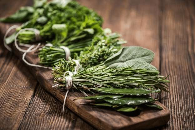 Treat herbs like fresh flowers