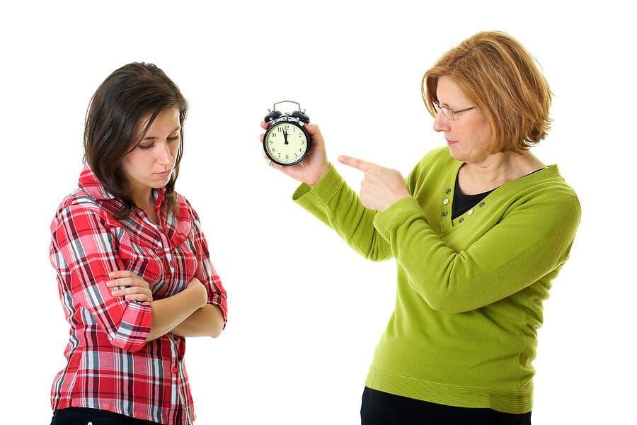 Curfew parent