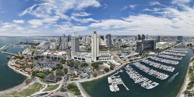 San Diego Aerial Panoramic