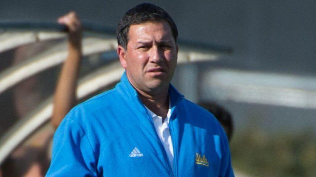 Jorge Salcedo - UCLA men's soccer