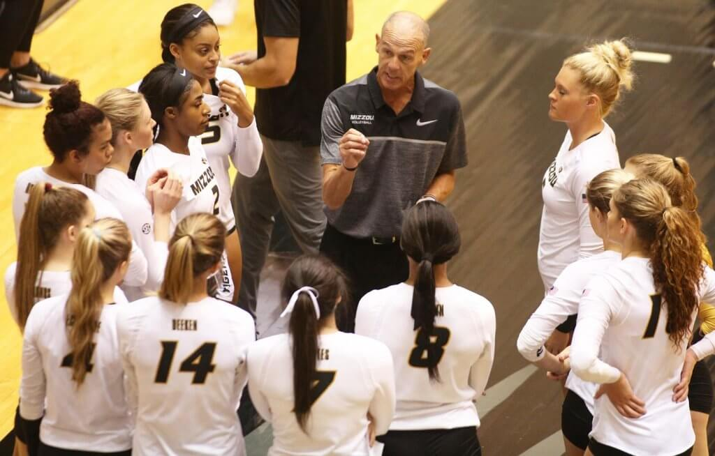 The Missouri Tigers Women's volleyball team